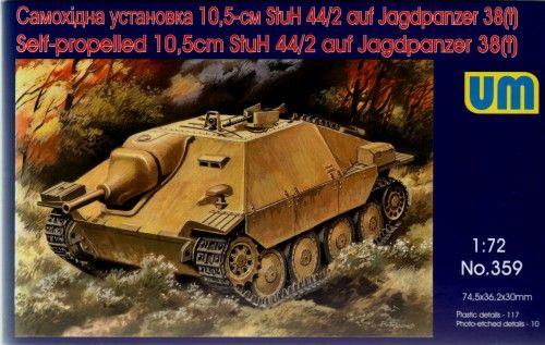 Unimodels Self-propelled 10,5cm StuH-44/2 auf Jagdpanzer