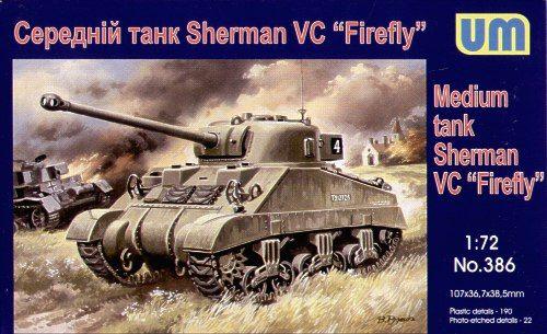 Unimodels Medium tank Sherman ''Firefly''