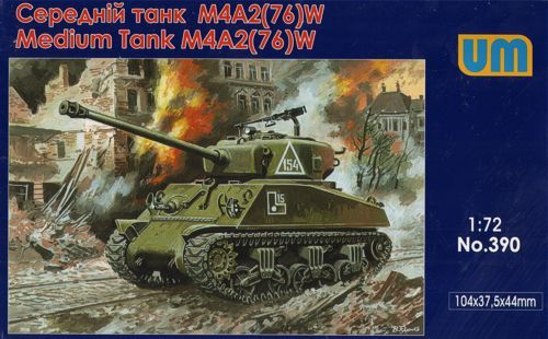 Unimodels M4A2(76)W US medium tank