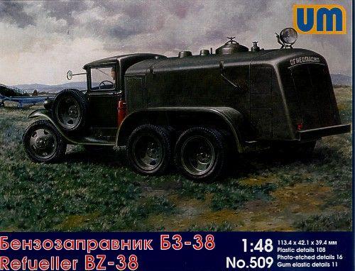 Unimodels BZ-38 refuel truck