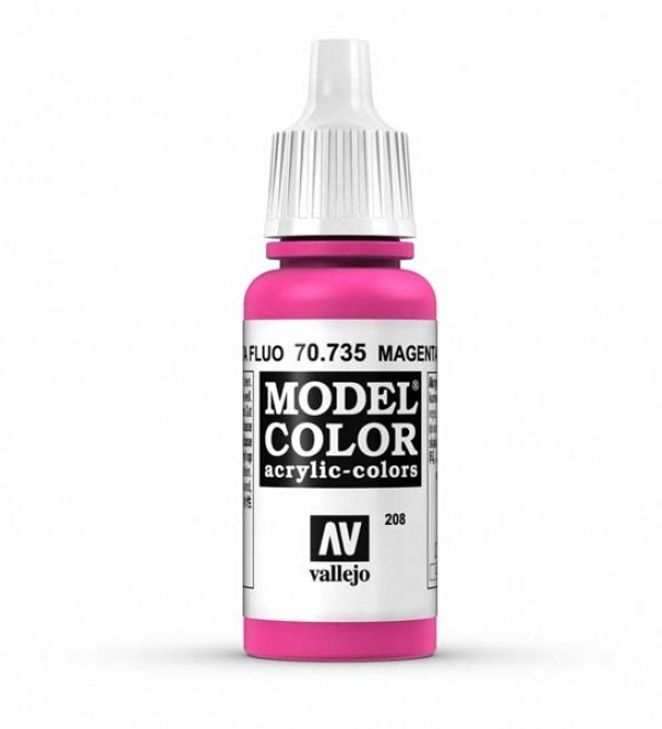 Vallejo Model Color 208 Magenta Fluorescent