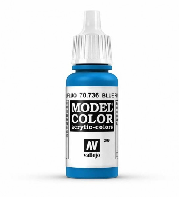Vallejo Model Color 209 Blue Fluorescent
