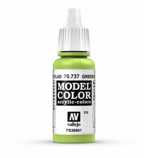 Vallejo Model Color 210 Green Fluorescent