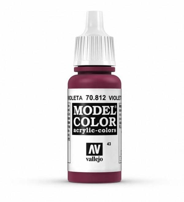 Vallejo Model Color 43 Violet Red