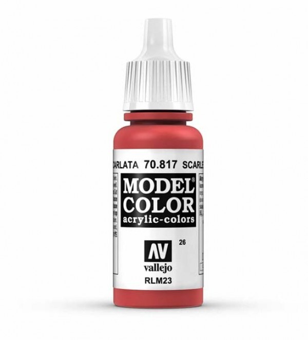 Vallejo Model Color 26 Scarlet