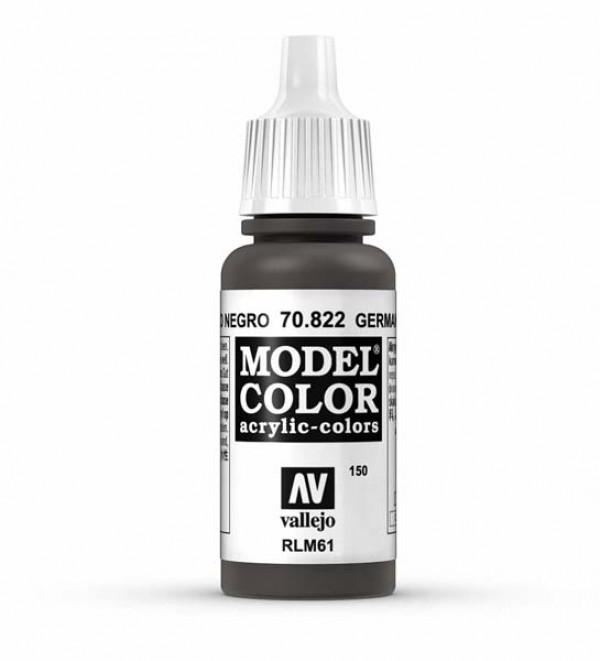 Vallejo Model Color 150 German Cam. Black Brown