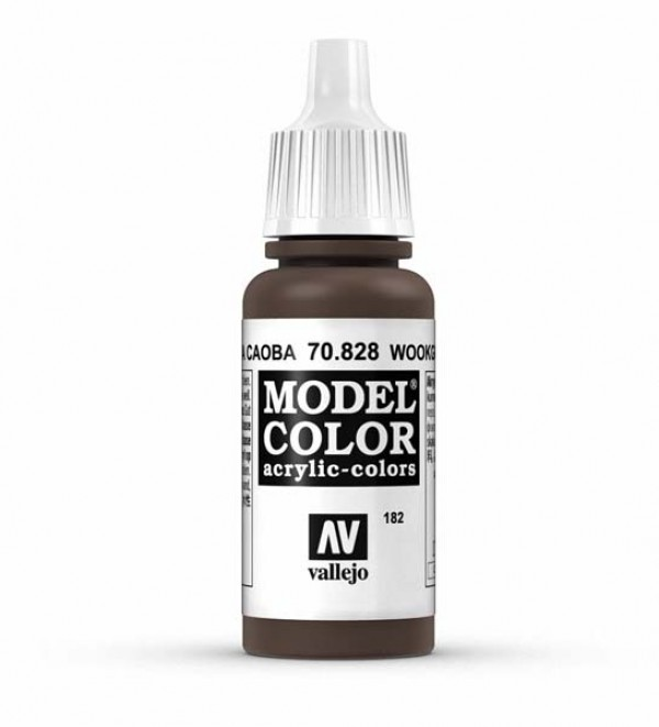 Vallejo Model Color 182 Wookrain Transparent
