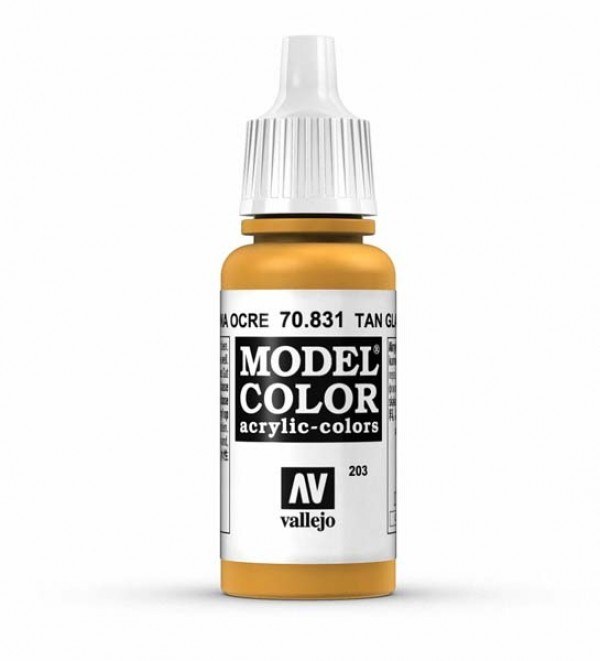 Vallejo Model Color 203 Tan Glaze
