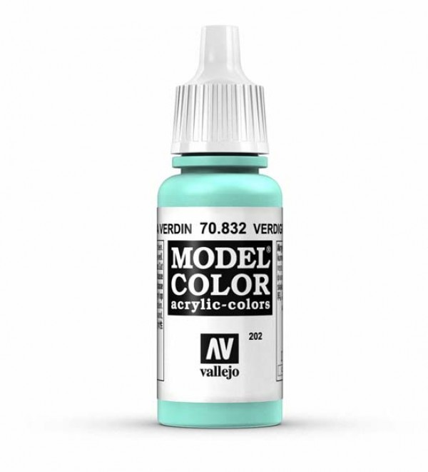 Vallejo Model Color 202 Verdigris Glaze