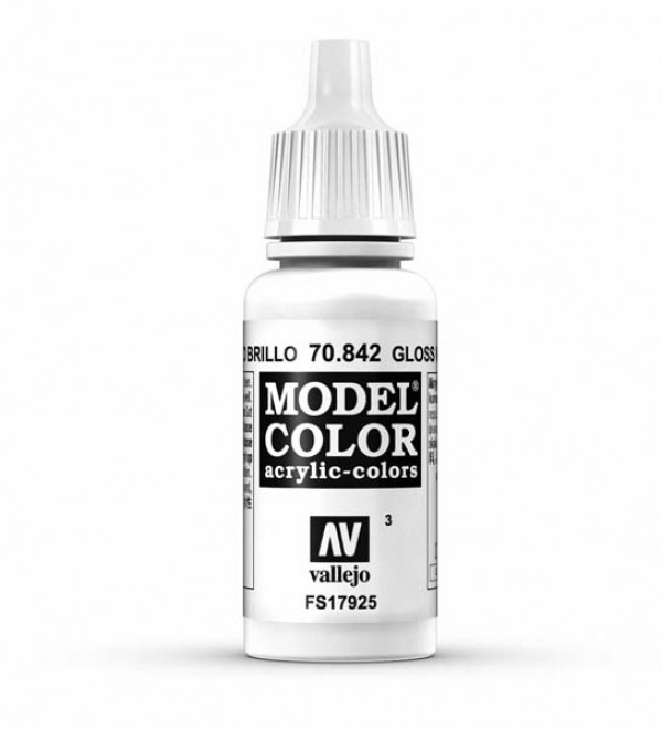 Vallejo Model Color 3 Gloss White