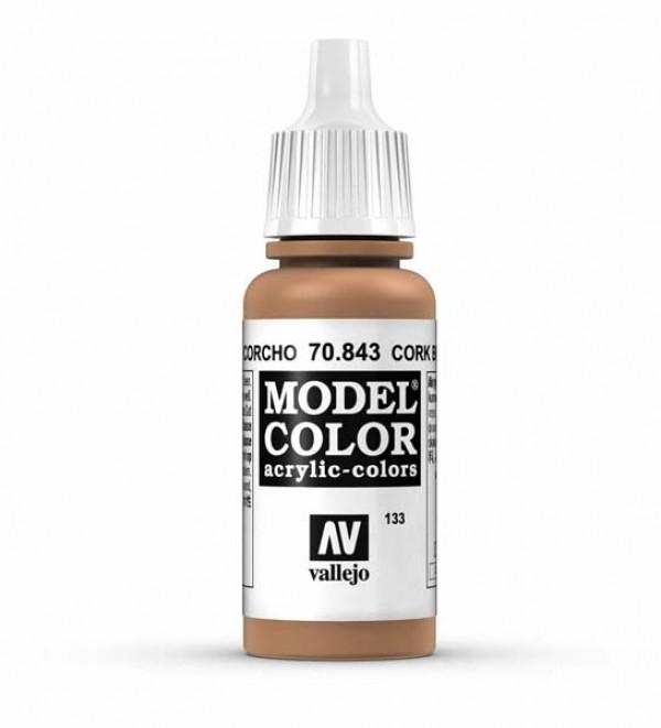 Vallejo Model Color 133 Cork Brown