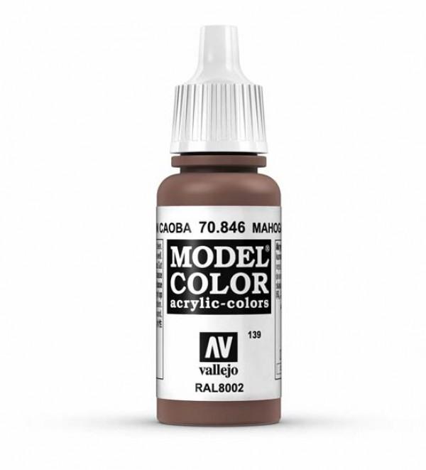 Vallejo Model Color 139 Mahogany Brown