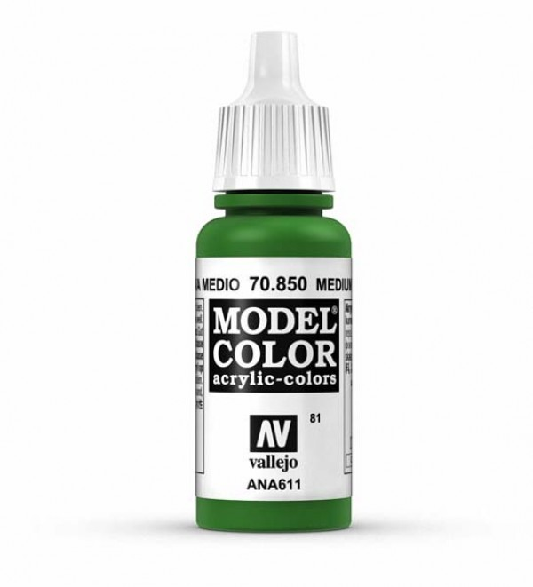 Vallejo Model Color 81 Medium Olive