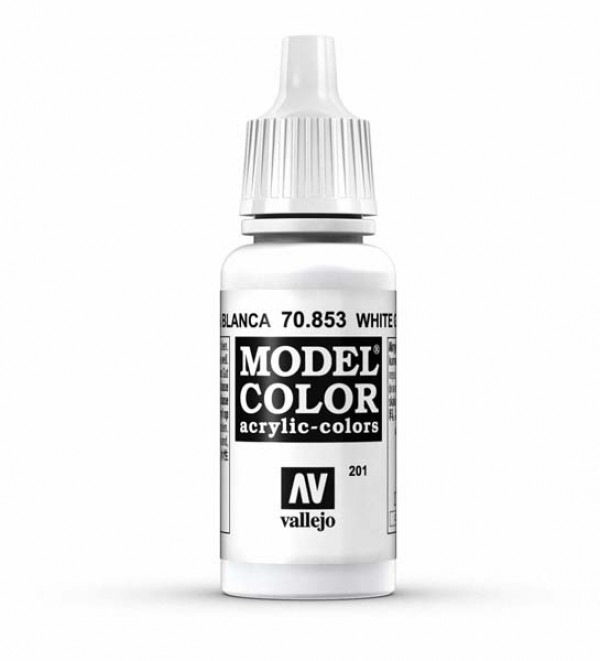 Vallejo Model Color 201 White Glaze