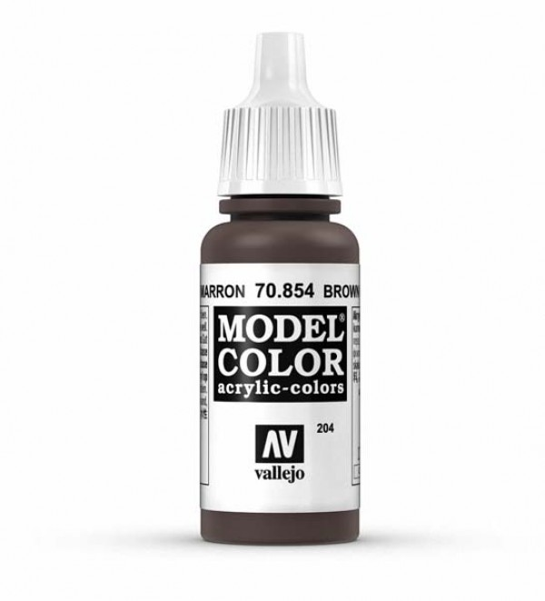 Vallejo Model Color 204 Brown Glaze