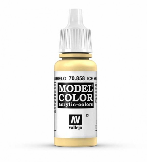 Vallejo Model Color 13 Ice Yellow