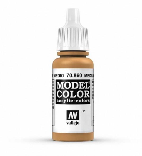 Vallejo Model Color 21 Medium Fleshstone
