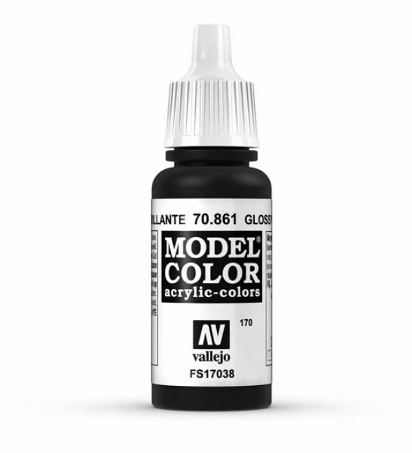 Vallejo Model Color 170 Glossy Black