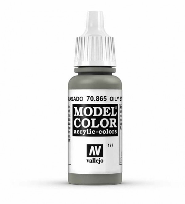 Vallejo Model Color 177 Oily Steel