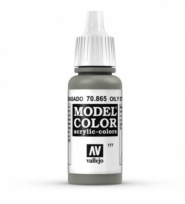 Vallejo Model Color 177 Oily Steel