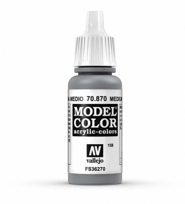 Vallejo Model Color 158 Medium Sea Grey