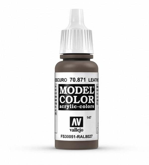 Vallejo Model Color 147 Leather Brown