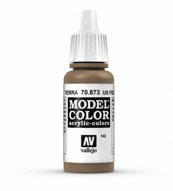 Vallejo Model Color 142 U.S. Field Drab