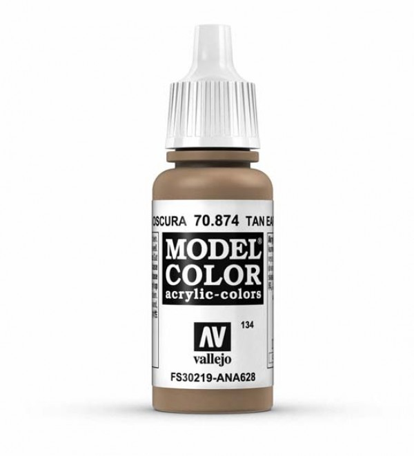 Vallejo Model Color 134 Tan Earth