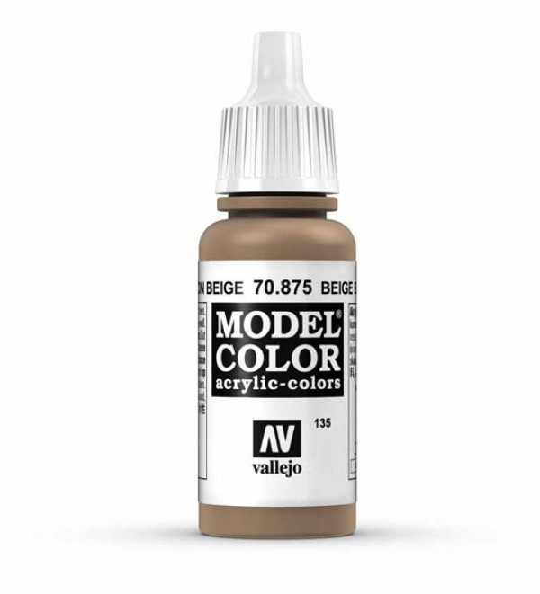 Vallejo Model Color 135 Beige Brown