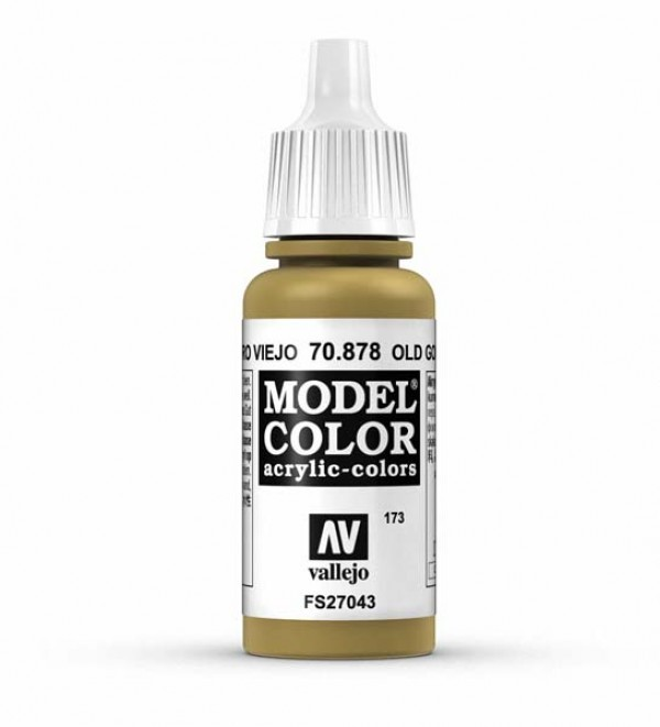 Vallejo Model Color 173 Old Gold
