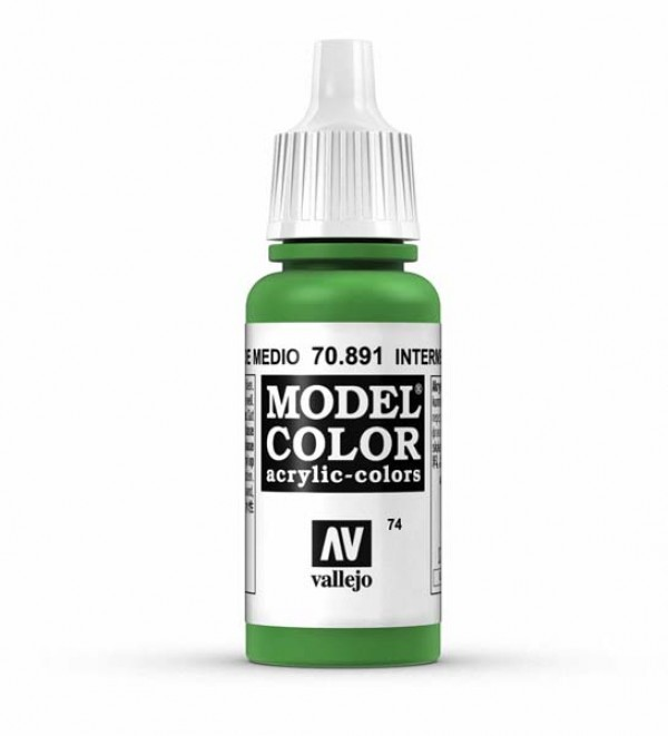 Vallejo Model Color 74 Intermediate Green