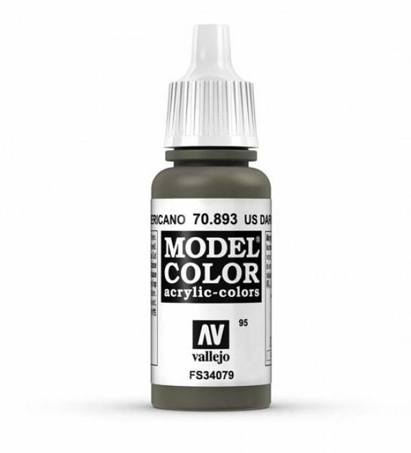 Vallejo Model Color 95 U.S. Dark Green