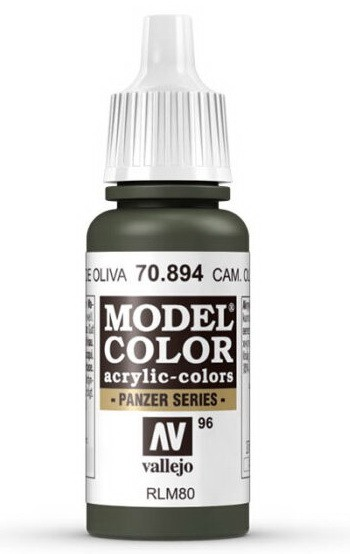 Vallejo Model Color 96 Cam. Olive-Russian green