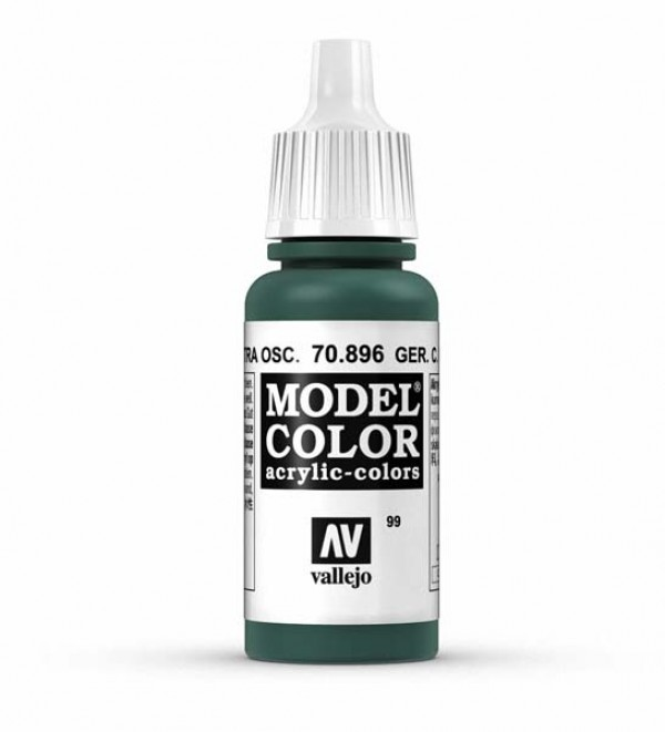 Vallejo Model Color 99 German. Cam. Extra Dark Green