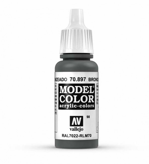 Vallejo Model Color 98 Bronce Green