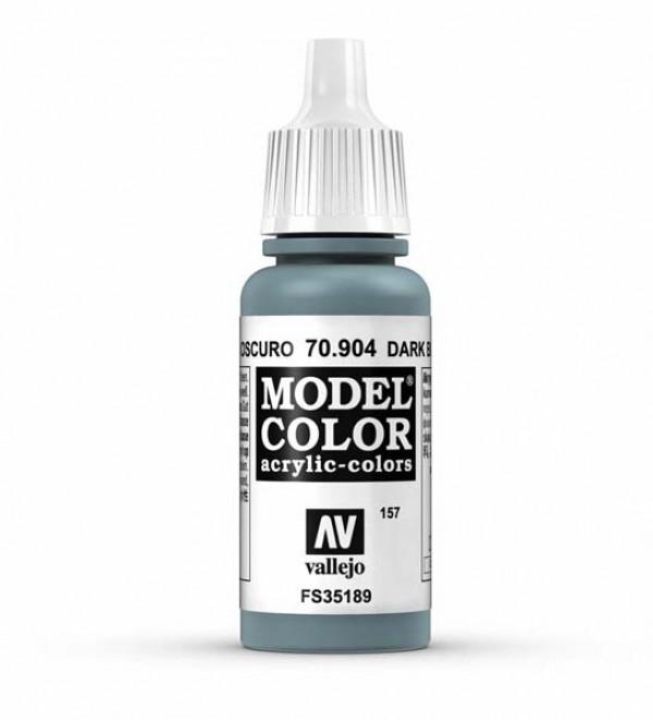 Vallejo Model Color 157 Dark Blue Grey