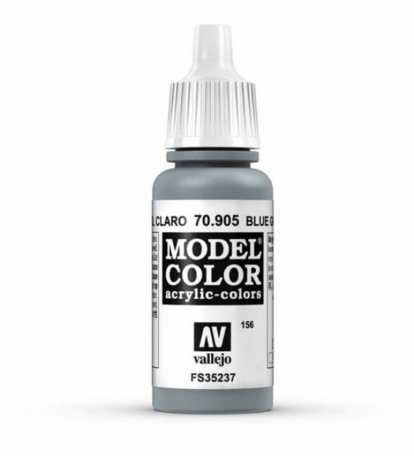 Vallejo Model Color 156 Bluegrey Pale