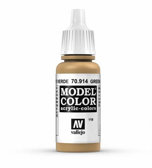 Vallejo Model Color 119 Green Ochre