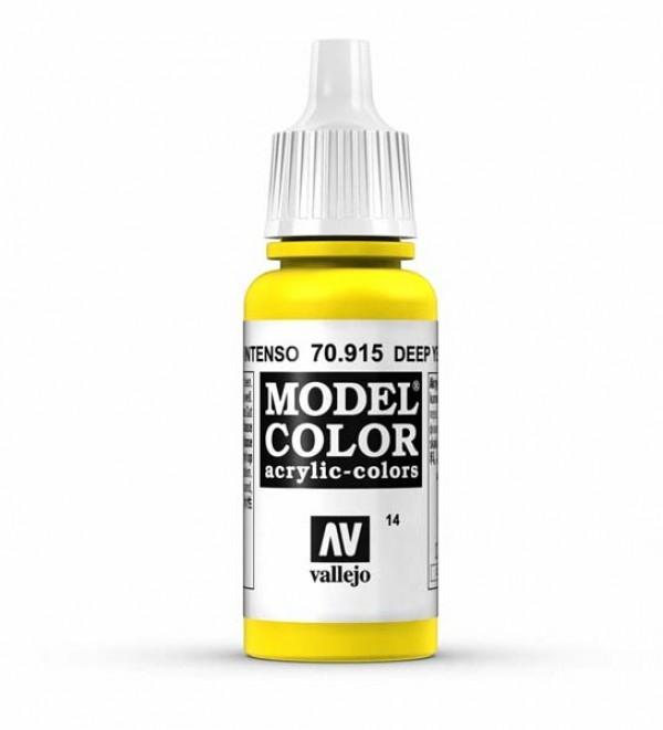 Vallejo Model Color 14 Deep Yellow