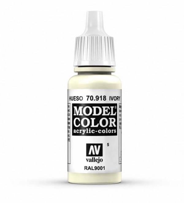 Vallejo Model Color 5 Ivory