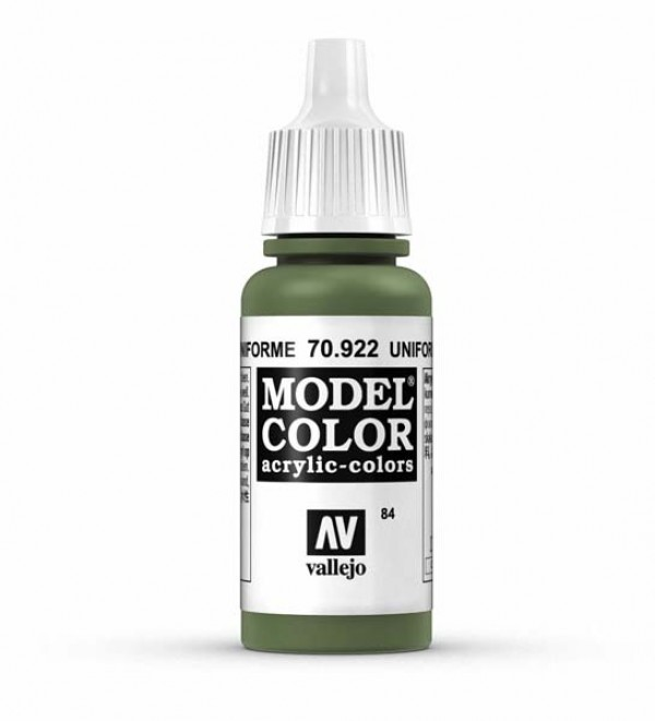 Vallejo Model Color 84 Uniform Green