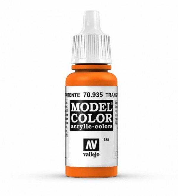 Vallejo Model Color 185 Orange Transparent