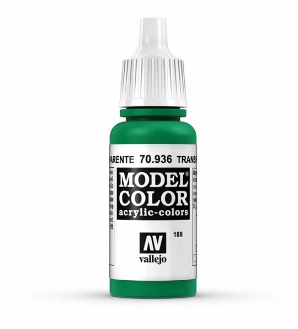 Vallejo Model Color 188 Green Transparent