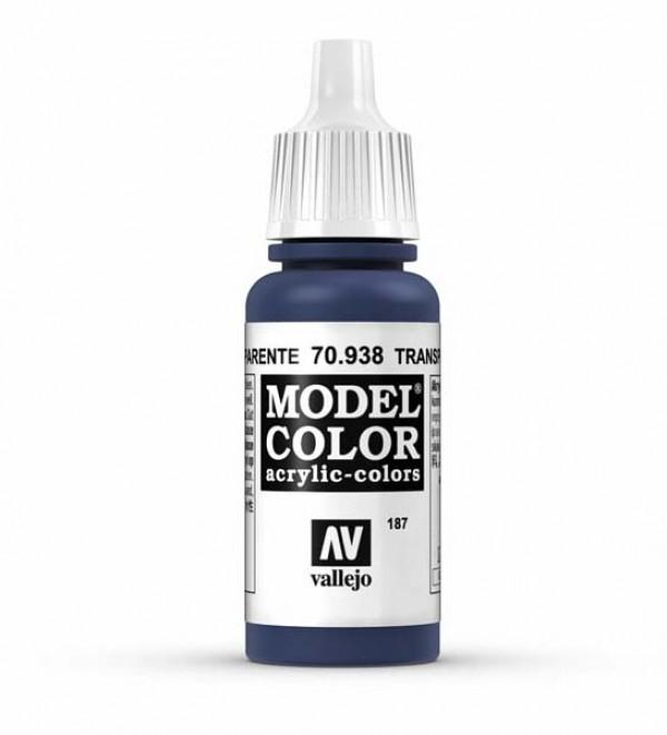 Vallejo Model Color 187 Blue Transparent