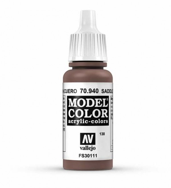 Vallejo Model Color 138 Saddle Brown