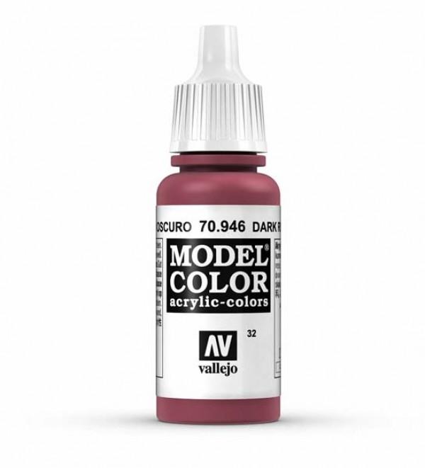 Vallejo Model Color 32 Dark Red