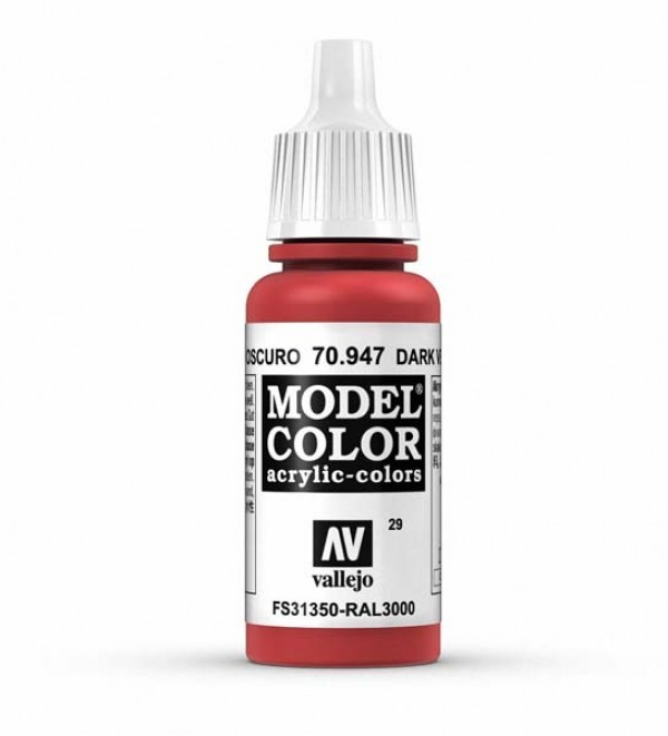 Vallejo Model Color 29 Red