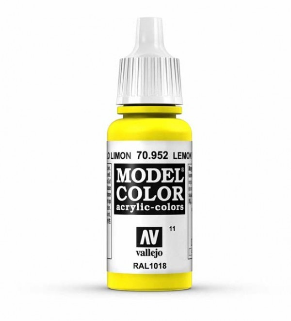 Vallejo Model Color 11 Lemon Yellow