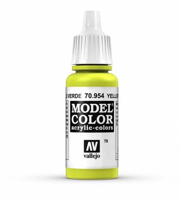 Vallejo Model Color 78 Yellow Green