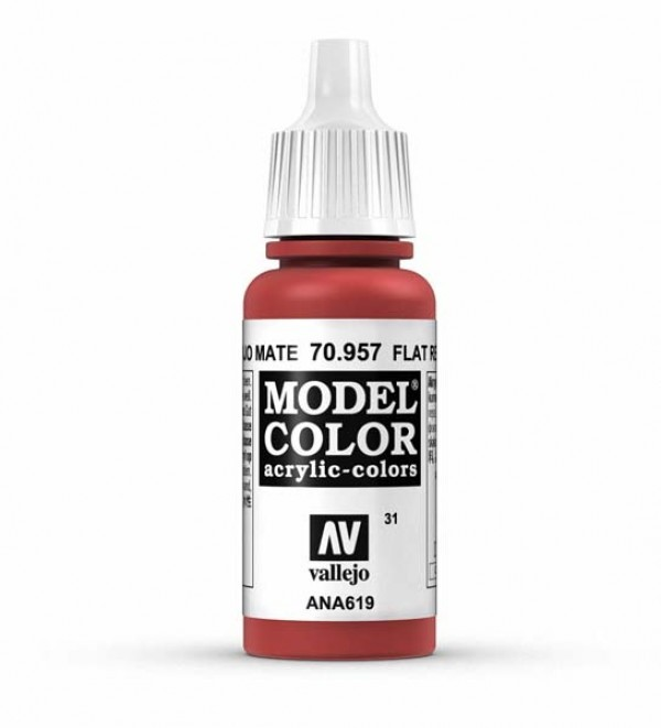 Vallejo Model Color 31 Flat Red